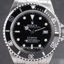 Rolex Sea-Dweller 4000 Steel 40mm Black No numerals United Kingdom, London, Paris, Brussels & Barcelona face to face delivery only - Other countries shipping with brinks and DHL Express