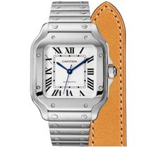 Cartier new Automatic 35.1mm Steel Sapphire crystal