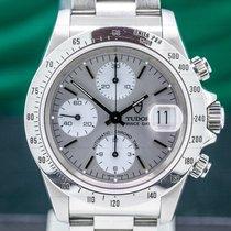 Tudor Prince Date Steel 40mm Silver Arabic numerals