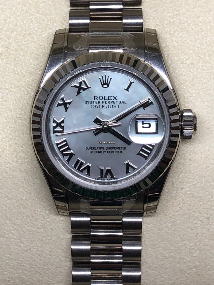 newest collection b033b 940eb Rolex Lady-Datejust, official price 24.900 CHF