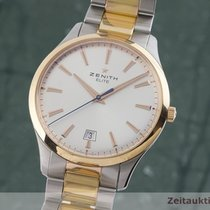 Zenith Captain Central Second Zlato/Zeljezo 40mm Srebro