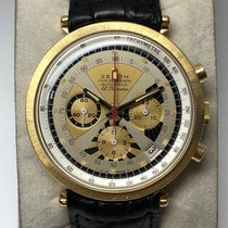 Zenith Yellow gold Automatic 39mm pre-owned El Primero