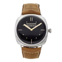 Panerai Radiomir 3 Days 47mm Steel 47mm Black No numerals