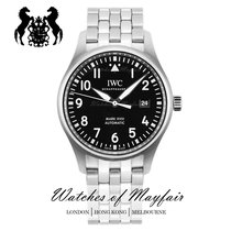IWC IW327015 Steel Pilot Mark 40mm new