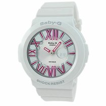 Casio Baby-G Plastic 43.6mm Silver Roman numerals United States of America, New Jersey, Somerset