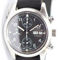IWC Fliegeruhr Chronograph Stahl 39mm Schwarz Arabisch Deutschland, Berlin