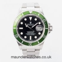 Rolex Submariner Date 16610LV 2006 pre-owned