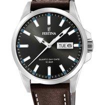 Festina Steel 41mm Quartz F20358/1 new