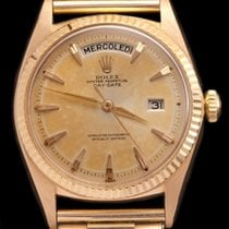 Rolex DAY DATE REF 1803 PINK GOLD BIG LOGO BRACELET