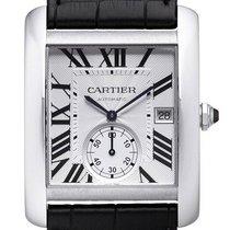 Cartier Tank MC Steel 44mm Silver Roman numerals