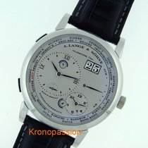 A. Lange & Söhne Lange 1 Platinum 41.9mm Silver Roman numerals United States of America, Florida, Boca Raton