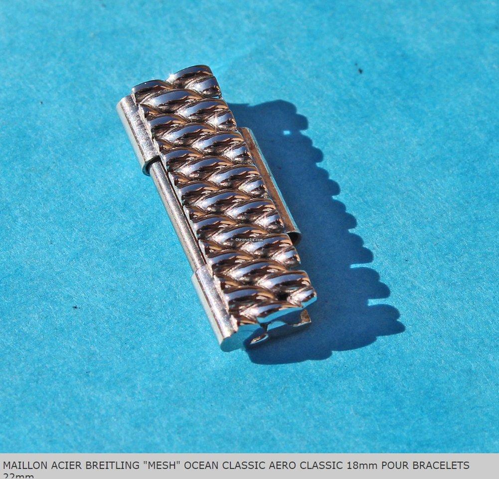 Breitling Ocean Racer Milanese Mesh 18mm Link Bracelet For 137 From A Trusted Er On Chrono24
