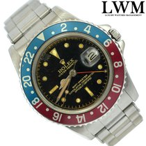 Rolex GMT Master 1675 Cornino glossy PCG Gilt Chapter Ring 1962