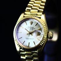 Rolex Lady-Datejust 18k Yellow Gold