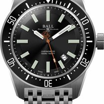Ball 44mm Automatic new Engineer Master II Skindiver Black