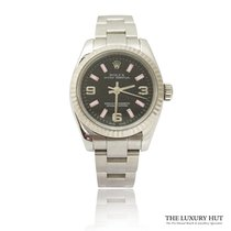 Rolex Oyster Perpetual 26 Steel 26mm Black Arabic numerals United Kingdom, London