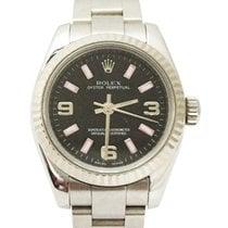 Rolex Oyster Perpetual 26 Acél 26mm Fekete Arab