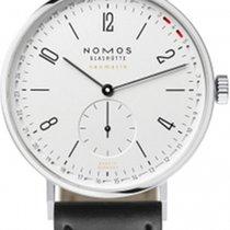 NOMOS Tangente Neomatik Acier 40.5mm Blanc Arabes