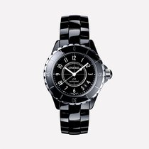 香奈儿 Unisex H0685 J12 Automatic Ceramic Black Dial Watch