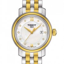 Tissot Bridgeport Acero 29.00mm Madreperla Romanos