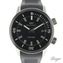IWC Aquatimer Automatic Steel 44mm Black Arabic numerals