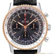 Breitling Navitimer 1 B01 Chronograph 43 Gold/Steel 43mm Grey No numerals
