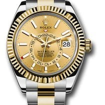 Rolex Sky-Dweller Gold/Steel 42mm Champagne United States of America, New York, NY