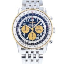 Breitling Navitimer Cosmonaute Steel 41.5mm Black United States of America, Georgia, Atlanta