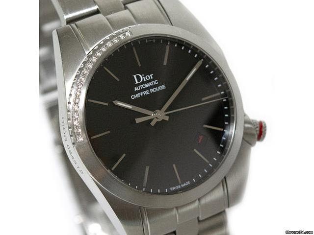 the latest 00611 2ca38 Dior ディオール シフルルージュ CD084512M001 ダイヤベゼル メンズ 腕時計
