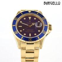 Rolex Submariner Date подержанные 40mm Жёлтое золото