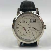 A. Lange & Söhne pre-owned Manual winding 39mm Silver Sapphire crystal 3 ATM