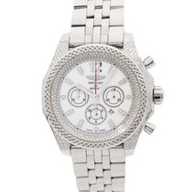 Breitling Bentley Barnato Steel 43mm White