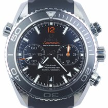 Omega Seamaster Planet Ocean Chronograph Steel 45.5mm Black United States of America, New York, Smithtown