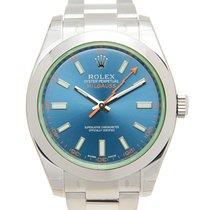Rolex Milgauss 116400GVBL neu
