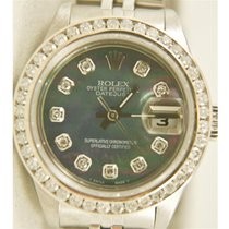 Rolex Lady-Datejust Zlato/Zeljezo 26mm Zlatan Bez brojeva