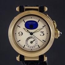 Cartier Pasha usados 38mm Fase lunar Fecha Piel