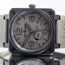 Bell & Ross BR 01-97 Réserve de Marche Steel 46mm Grey Arabic numerals