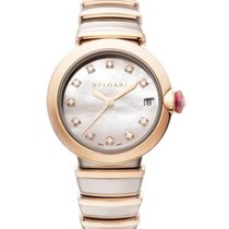 Bulgari Lucea Gold/Steel 36mm Mother of pearl United States of America, New York, New York