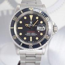 롤렉스 1680 스틸 1973 서브마리너 데이트 40mm 중고시계