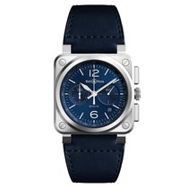 Bell & Ross BR 03-94 Chronographe Steel 42mm Blue United States of America, Florida, Miami