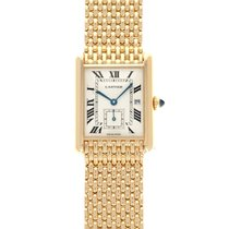 Cartier Tank Louis Cartier Yellow gold 23mm White Roman numerals United States of America, California, Beverly Hills