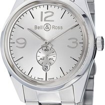Bell & Ross Vintage Steel Silver United States of America, New York, Brooklyn