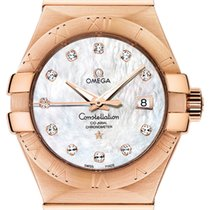 Omega Constellation Unworn Rose gold 31mm Automatic United States of America, New York, Airmont