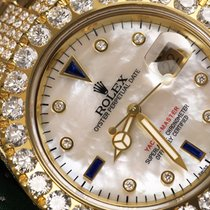 Rolex Diamond Rolex Watch Yacht-master 18k Yellow Gold 40mm...