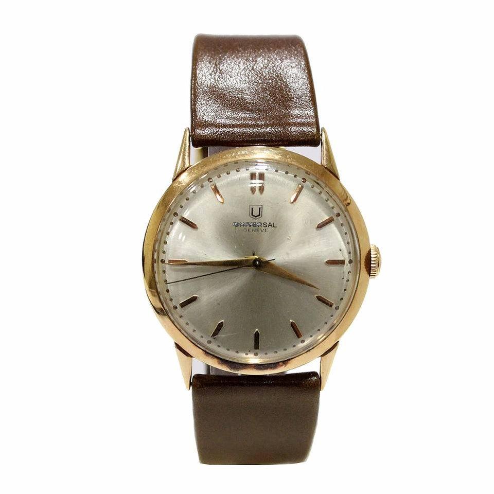 ccf501a5483 Relógios Universal Genève usados - Compare os preços de relógios Universal  Genève usados
