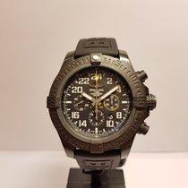 Breitling Avenger Hurricane Steel 50mm Black Arabic numerals