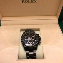Rolex Daytona Ref. 116520 aus 2002 Full Set - Black  Edition