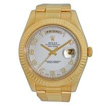 Rolex Day-Date II Oro amarillo 41mm Árabes