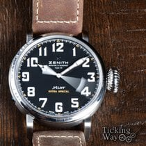 Zenith Pilot Type 20 Extra Special Steel 45mm Black Arabic numerals United States of America, California, Irvine