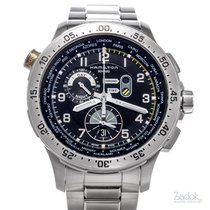 Hamilton Khaki Worldtimer Chronograph Quartz 45mm Watch...